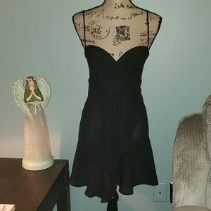 Vintage Victoria's Secret Luxe Faux Wrap Chemise